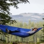 acampar en hamaca