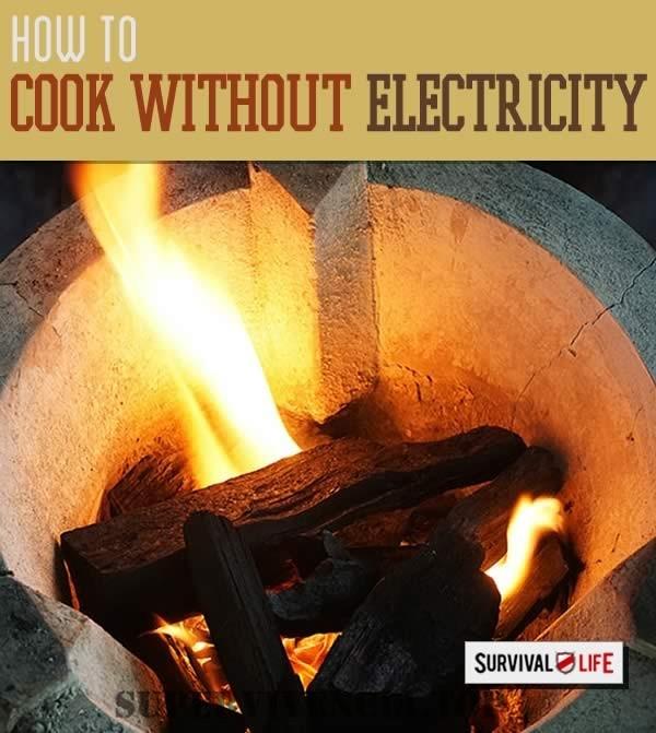 Cómo cocinar sin electricidad