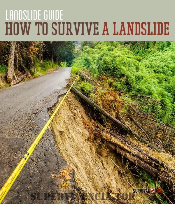 Cómo Mantenerse Vivo Durante un Desprendimiento de Tierras