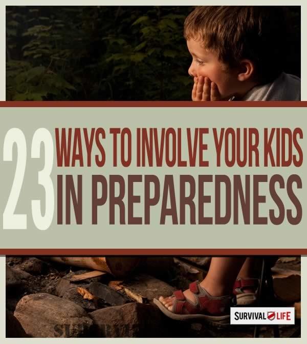 Cómo preparar a sus hijos en casos de desastre