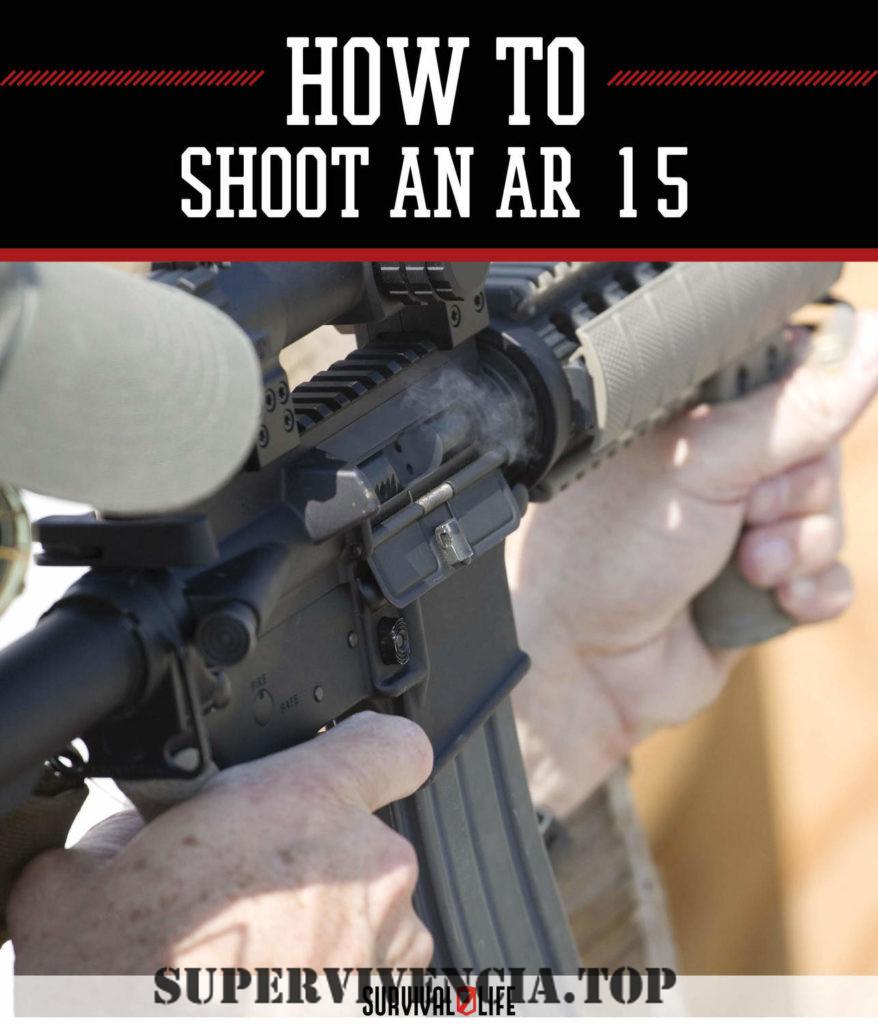 Cómo disparar un AR-15